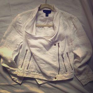 INC Linen White Jacket